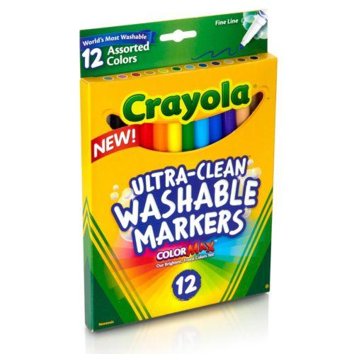 Crayola 12-ct. Fine Line Markers