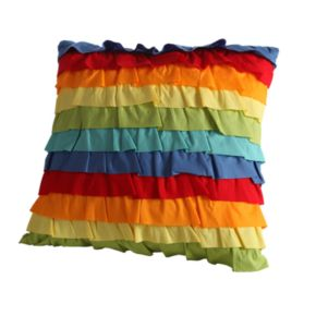 Fiesta Baha Ruffle Decorative Pillow