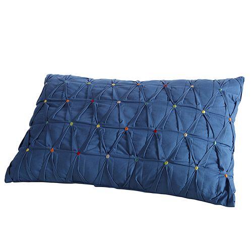 Fiesta Dot Embroidered Decorative Pillow