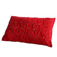 Fiesta Dot Embroidered Decorative Pillow