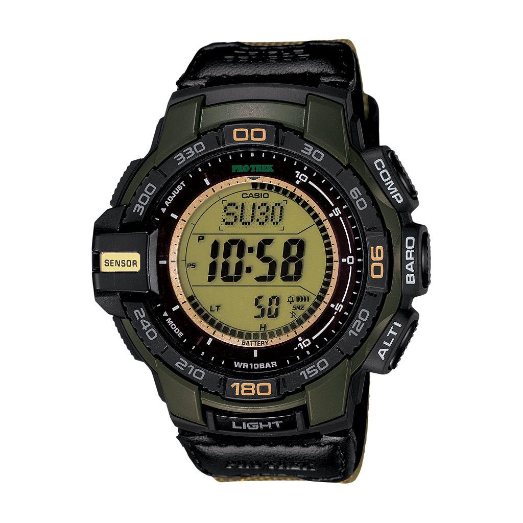 Casio Men's PRO TREK Digital Watch - PRG270B-3CR