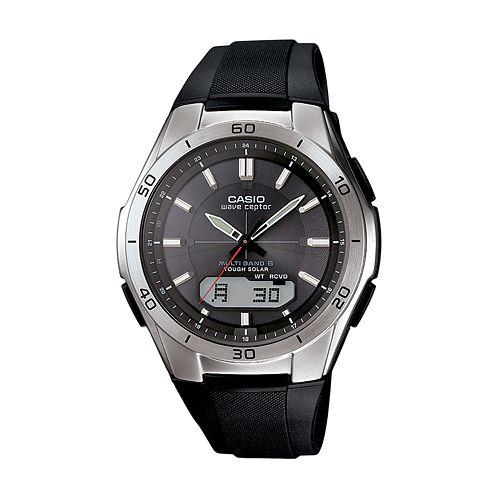 Casio Men's Wave Ceptor Analog & Digital Atomic Watch - WVAM640-1A