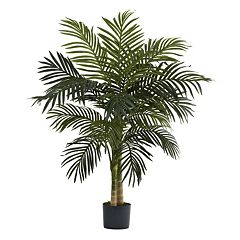 nearly natural 4-ft. Golden Cane Palm Tree