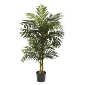 nearly natural 5-ft. Golden Cane Palm Tree