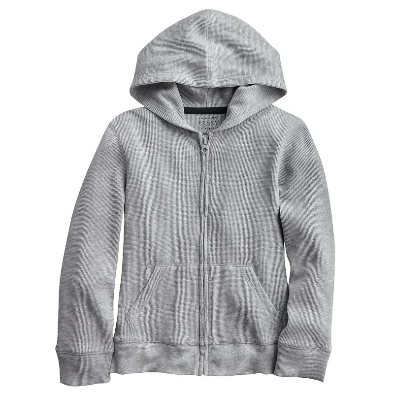 SONOMA life + style Thermal Hoodie - Boys 4-7x