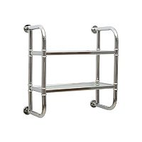 Neu Home 2-Tier Wall-Mounted Bath Shelf