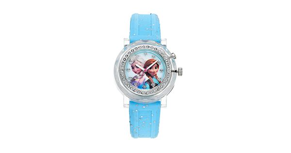 disney frozen elsa and anna kids 39 light up watch