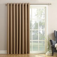 Sun Zero Gramercy Room Darkening Patio Door Window Panel - 100'' x 84''