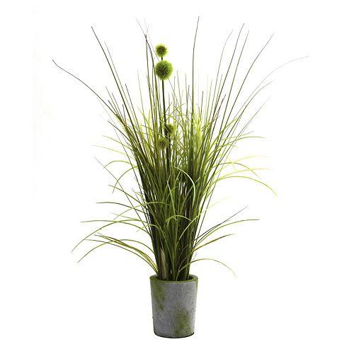 nearly natural Grass & Dandelion Arrangement