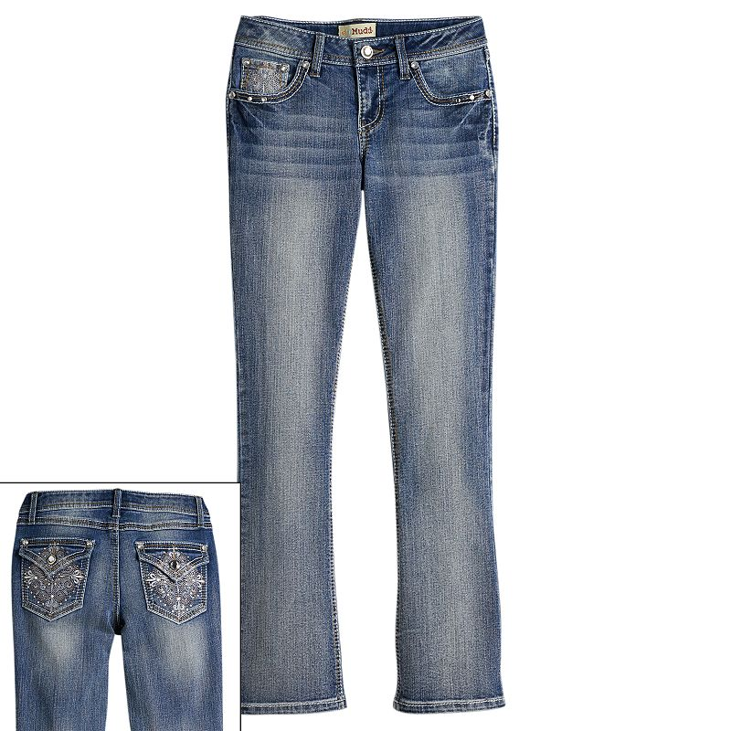 Mudd Bedazzled Bootcut Jeans - Girls 7-16