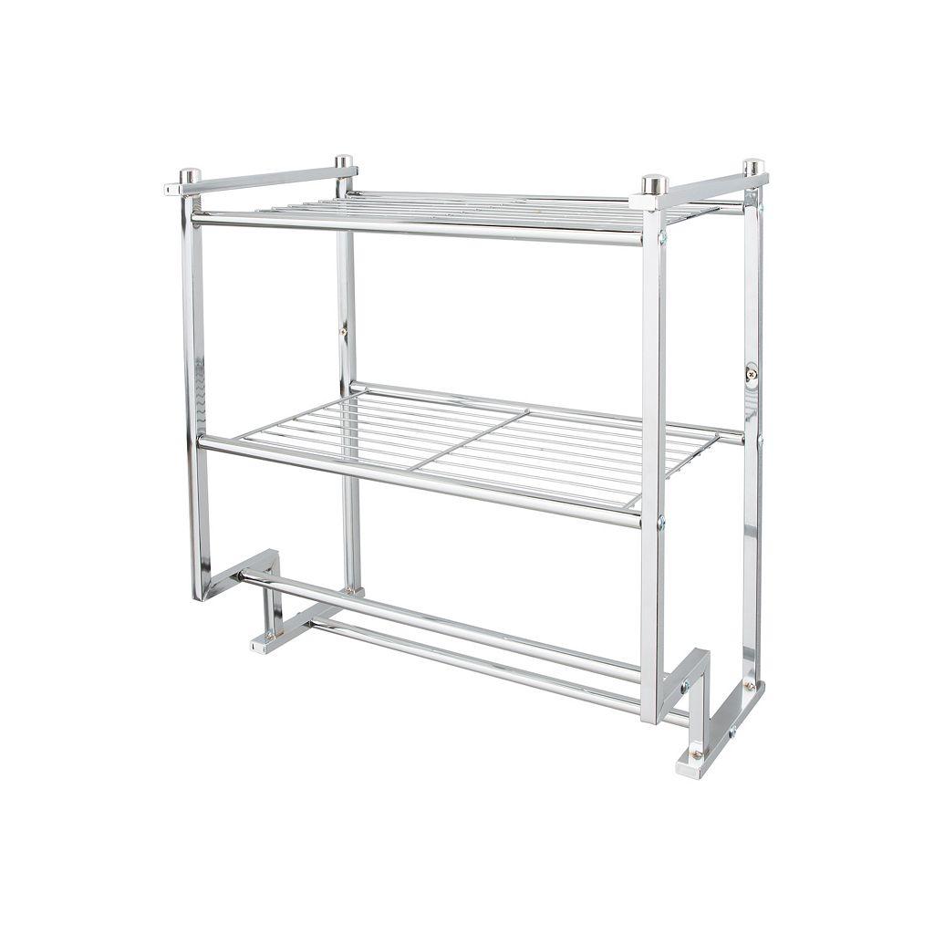 Neu Home Metro 2-Tier Wall-Mounted Shelf