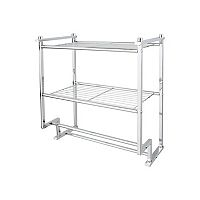 Neu Home Metro 2-Tier Wall-Mounted Shelf