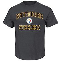 Men's Pittsburgh Steelers Heart and Soul III Tee