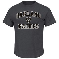 Men's Oakland Raiders Heart and Soul III Tee