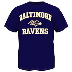 Men's Baltimore Ravens Heart and Soul III Tee