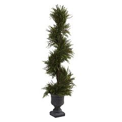 nearly natural 3 3/4-ft. Mini Spiral Pine Tree - Indoor & Outdoor