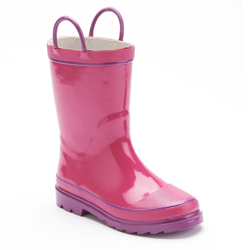 Western Fire Chief 2 Rain Boots - Girls