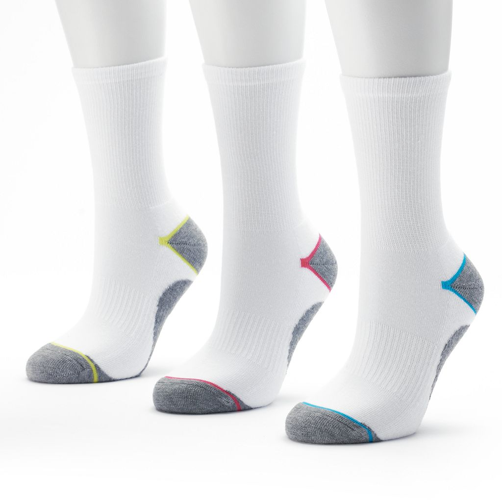 Tek Gear® 3-pk. Performance Crew Socks - Women