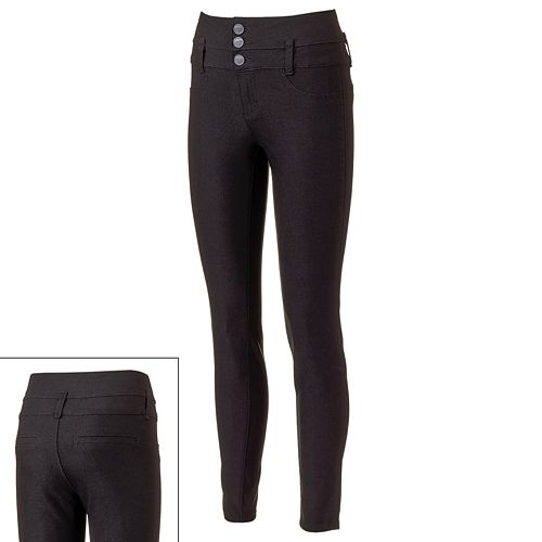 0b73153c5d302 YMI Hyperstretch High-Waisted Skinny Jeggings - Juniors