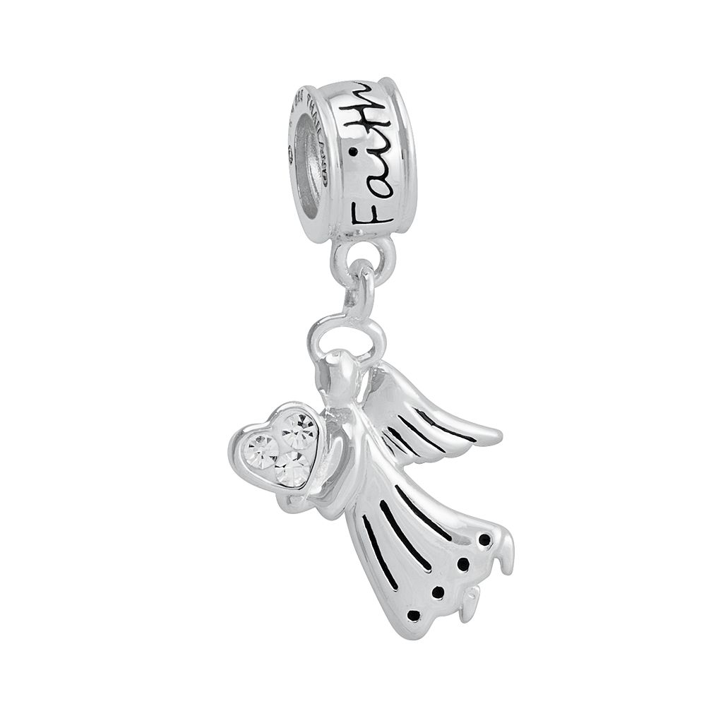 Jewelry of Faith Sterling Silver Crystal