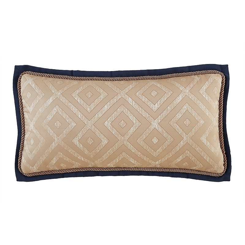 Marquis by Waterford Hana Geometric Oblong Decorative Pillow