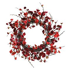 nearly natural Plum Blossom Wreath