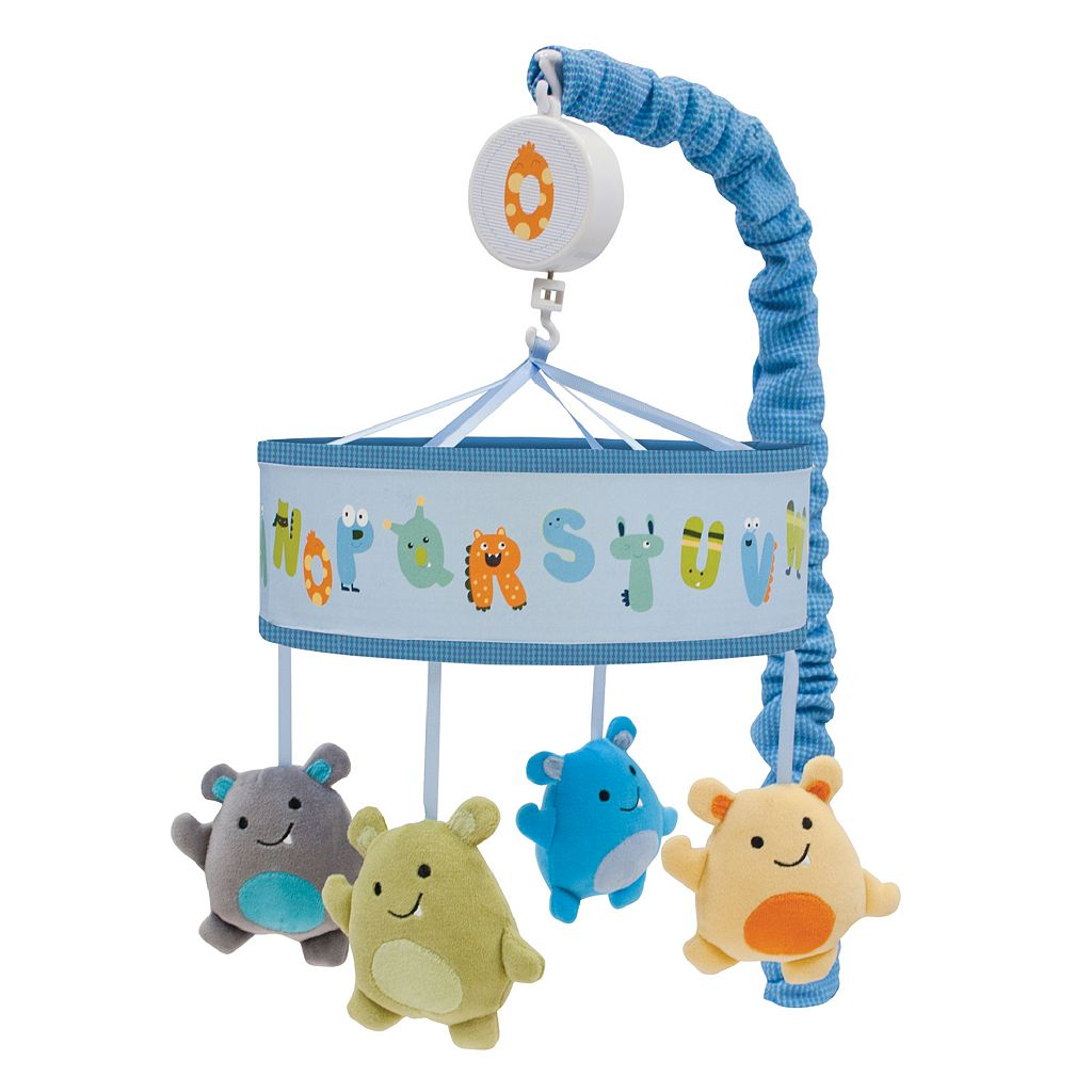 Lambs & Ivy Alpha Baby Musical Mobile