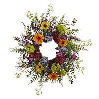 nearly natural Spring Garden Wreath