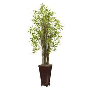 nearly natural 5 1/2-ft. Grass Bamboo Plant