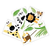 Lambs & Ivy Peek A Boo Jungle Wall Decals