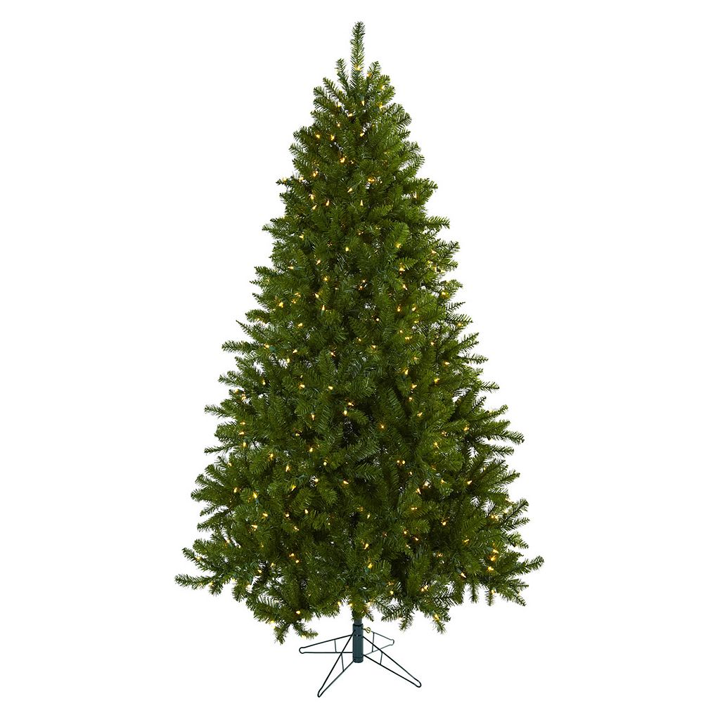 nearly natural 7 1/2-ft. Windermere Pre-Lit Artificial Christmas Tree - Indoor