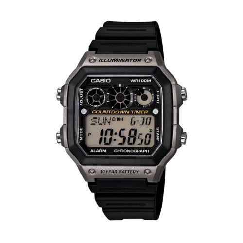 Casio Watch - Men's Resin Digital Chronograph