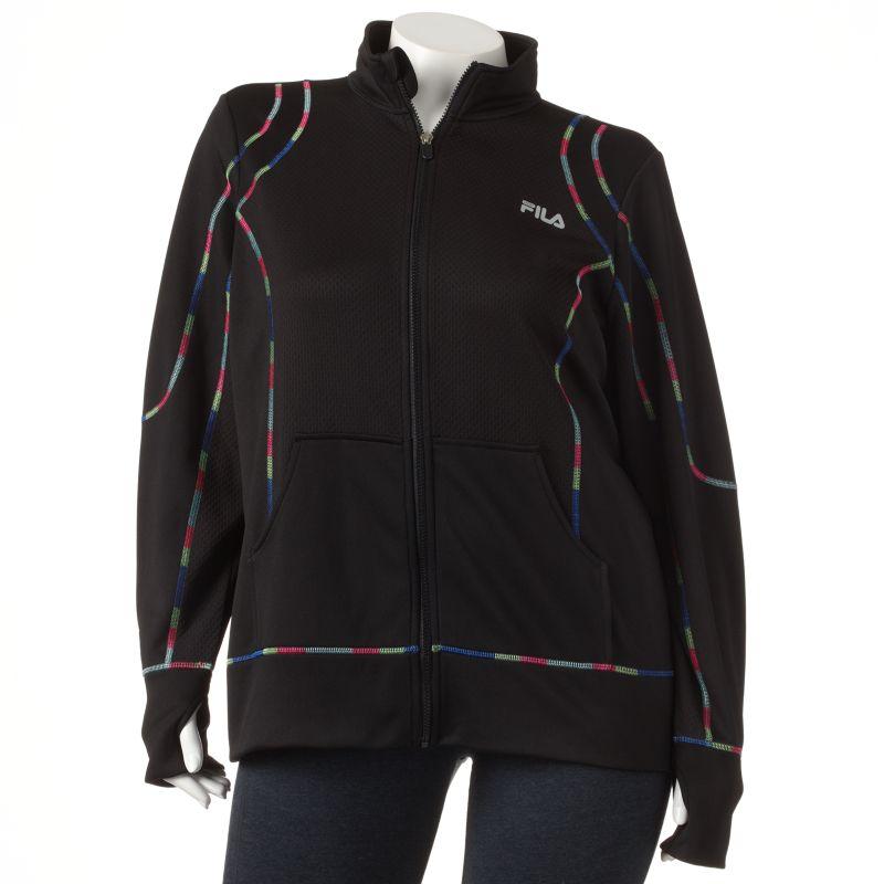 FILA SPORT Velocity Jacket - Women's Plus Size