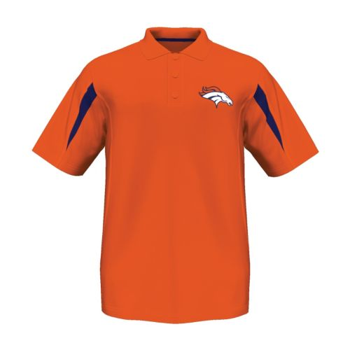 Majestic Denver Broncos Field Classic Cool Base Polo - Men