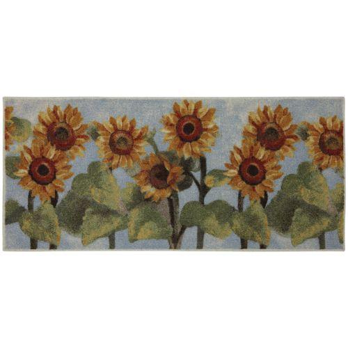 25 Sunflower Kitchen Rugs