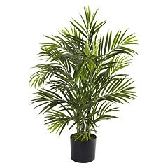 nearly natural 2 1/2-ft. Potted Areca Palm Tree - Indoor & Outdoor