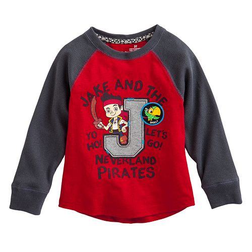 Disney Jake and the Never Land Pirates Thermal Raglan Tee by Jumping Beans® - Toddler