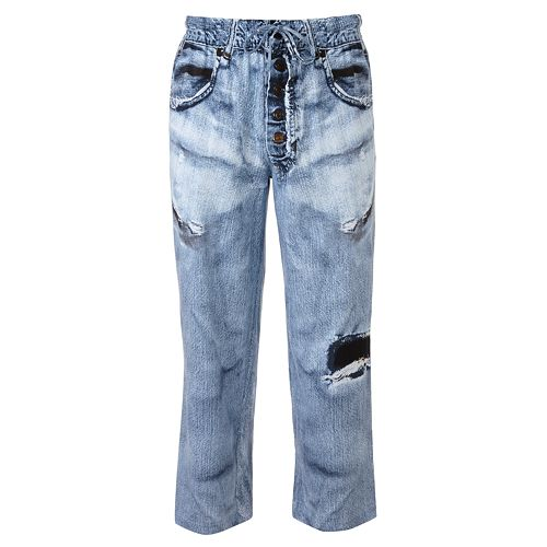 Under Disguise Faux-Denim Lounge Pants - Men