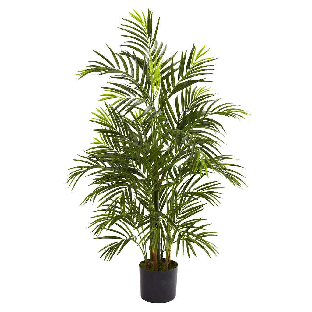 nearly natural 3 1/2-ft. Potted Areca Palm Tree - Indoor & Outdoor