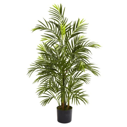 nearly natural 3 1/2-ft. Potted Areca Palm Tree - Indoor and Outdoor