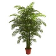 nearly natural 6 1/2-ft. Potted Areca Palm Tree - Indoor & Outdoor