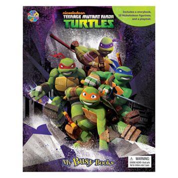 Levy Teenage Mutant Ninja Turtles My Busy Book