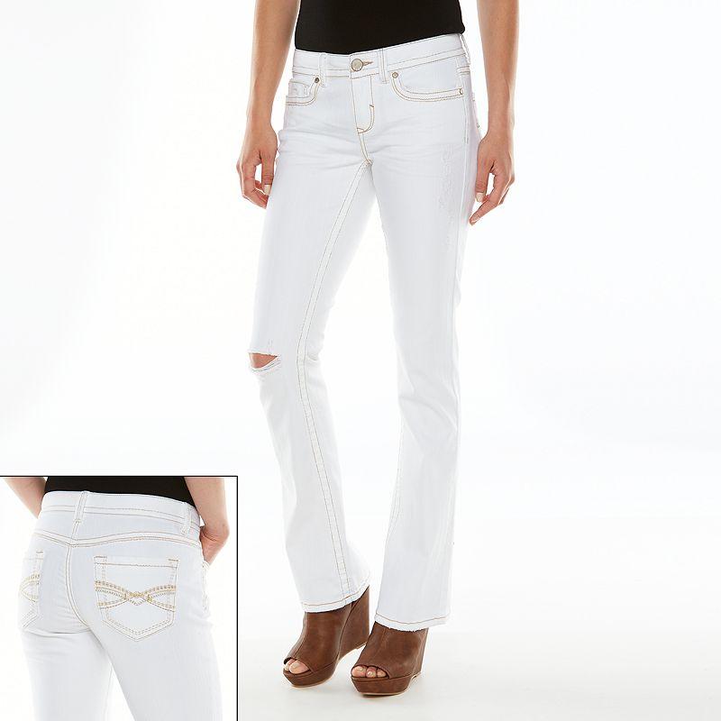 Mudd Skinny Bootcut Jeans - Juniors