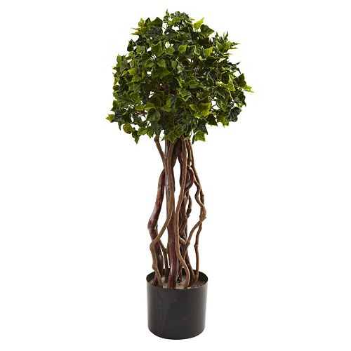 nearly natural 2 1/2-ft. Potted English Ivy Topiary - Indoor and Outdoor