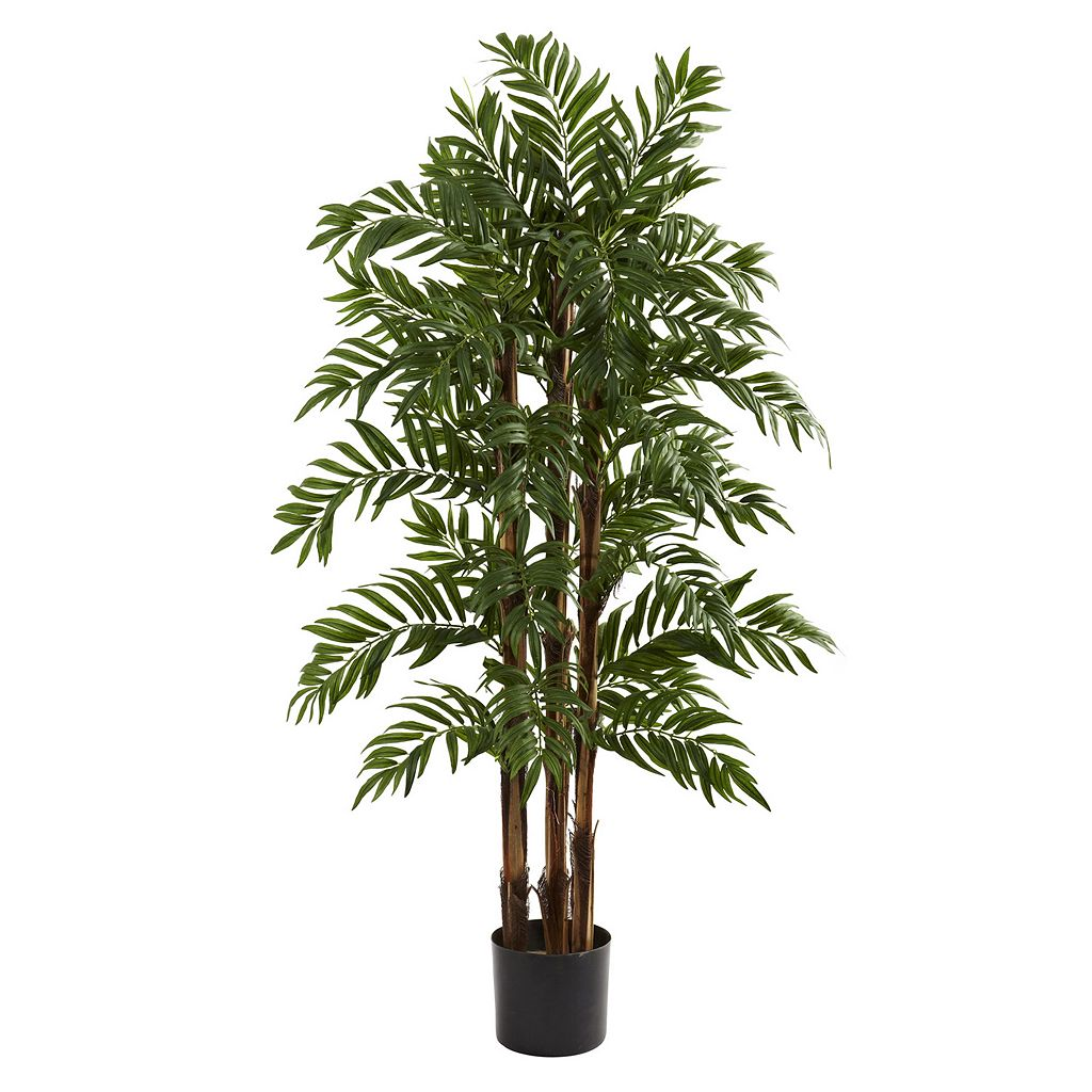 nearly natural 4-ft. Potted Parlor Palm Tree