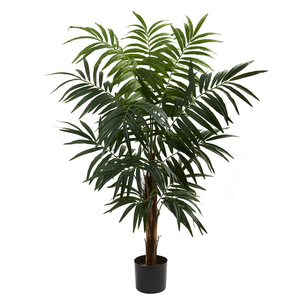 nearly natural 4 1/2-ft. Potted Bulb Areca Tree