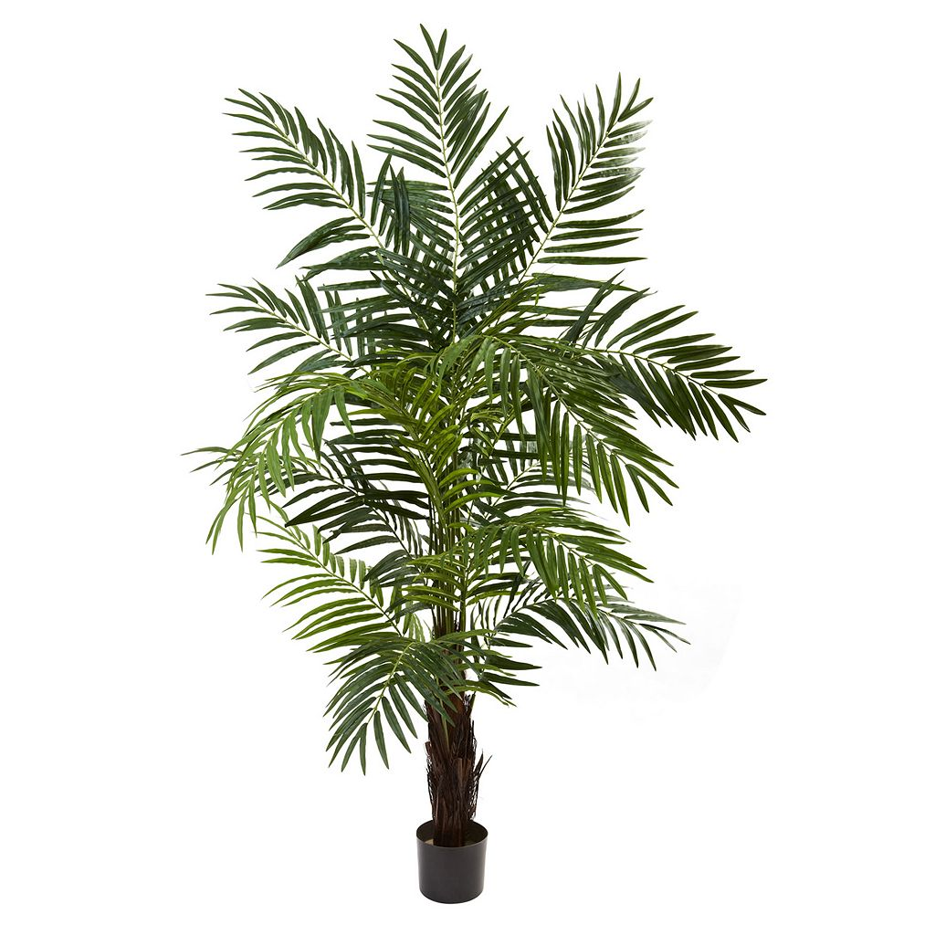 nearly natural 6-ft. Potted Areca Palm Tree