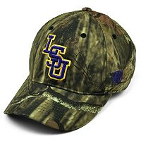 Adult Top of the World LSU Tigers Resistance Mossy Oak Camouflage Adjustable Cap
