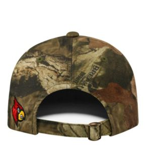Adult Top of the World Louisville Cardinals Resistance Mossy Oak Camouflage Adjustable Cap