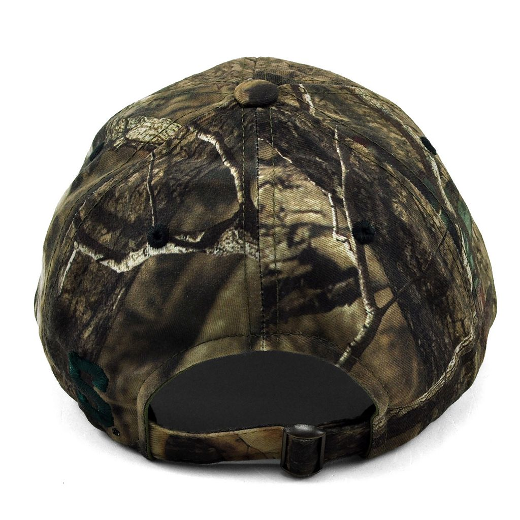 Adult Top of the World Michigan State Spartans Resistance Mossy Oak Camouflage Adjustable Cap